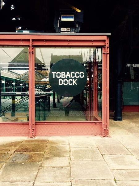 Tobacco Dock, where the WIRED event took place Docks Entrance Event Holder London Metal And Glass Metal And Glass Architecture Modern Archictecture Modern Architecture No People Simple Architecture Tobacco Dock Travel