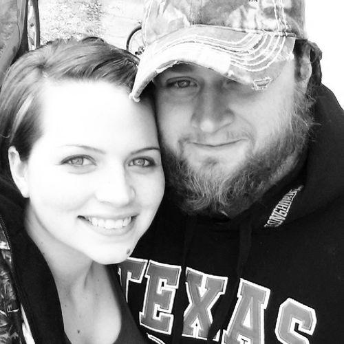 The husband, his Beard , and I. ♡♡♥ Beardkick