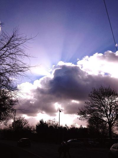 Sky Pic Sun Rays Hope For Summer Not Warm Yet Sky Sun
