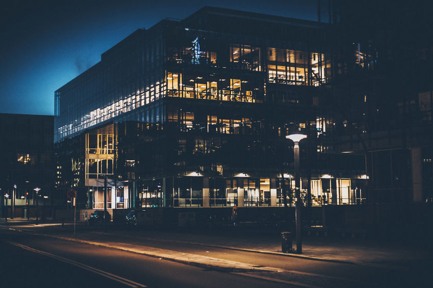 Architecture Building Exterior Built Structure City Cityscape Illuminated Night No People Outdoors Road Sky Street