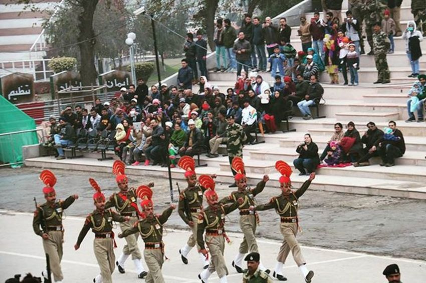 Its been pleasure to watch them marching at evening flag lowering ceremony at Wagha & Atari border of Pakistan🇩🇿 and India🇮🇳 . . Marching Indiansoldiers Bsf JaiHind Border Waghaatariborder IndianArmy Travelphotography Proudmoment Traveldiries Borderdiries Awesomeexperience 6degree Jawan Amritsardiaries Punjabdiaries Evening Canon760D Republicdayspecial Eveningflagloweringceremony IndianArmy Indiapakistanborder Proudtobeindian @stories.of.india