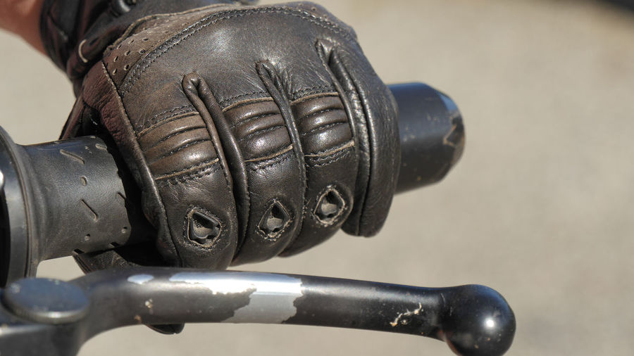 Close-up Metal Focus On Foreground Sport Indoors  Black Color No People High Angle View Body Part Protection Bicycle Shoe Motorcycle Day Man Made Object Transportation Still Life Sports Equipment Leather