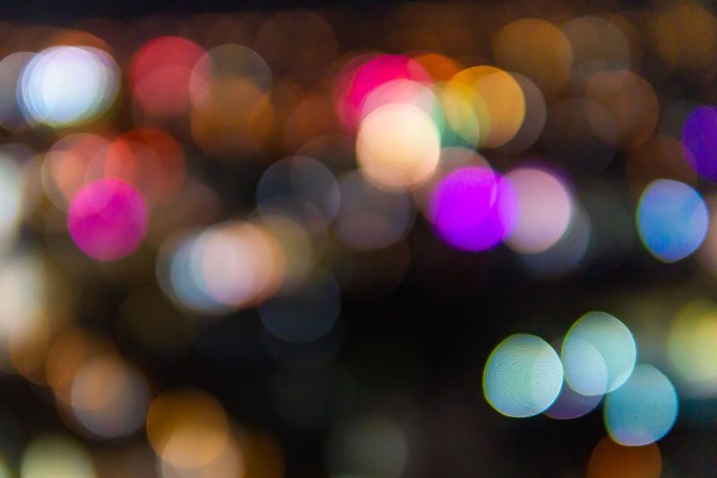 Bokeh of Hue city at night. Illuminated Night Multi Colored Abstract Circle Light Light Effect Blurred Motion Abstract Backgrounds Bokeh Bokeh Photography Bokeh Lights Defocused Backgrounds Pattern Shape Geometric Shape No People Glowing Blured Blured Lights