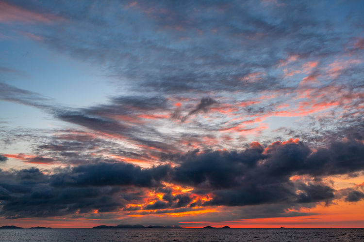 Beauty In Nature Cloud - Sky Day Dramatic Sky Horizon Over Water Idyllic Nature No People Outdoors Scenics Sea Sky Sunset Tranquil Scene Tranquility Water