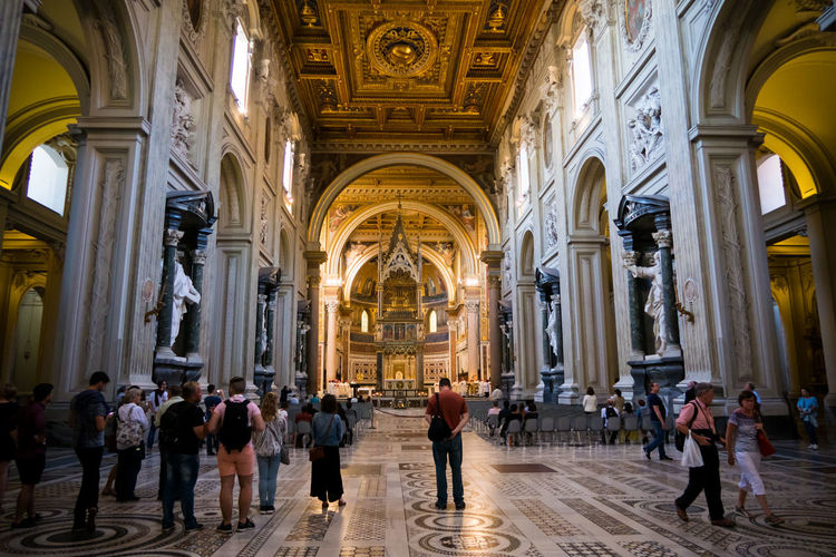 cathedral in Rome Cathedral Rome Italy Large Group Of People Men Adult first eyeem photo
