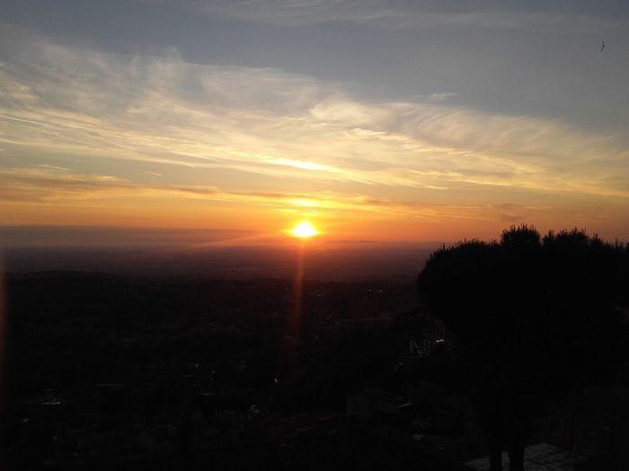 Roccadipapa Sunset View