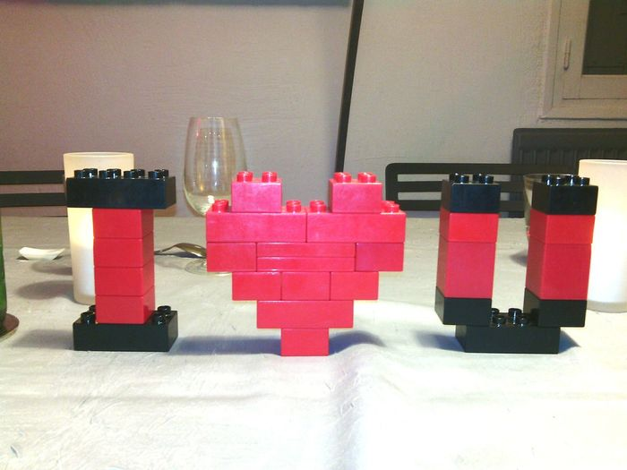 Loveit Heart LEGO Legoland Lovely Love Legoveli