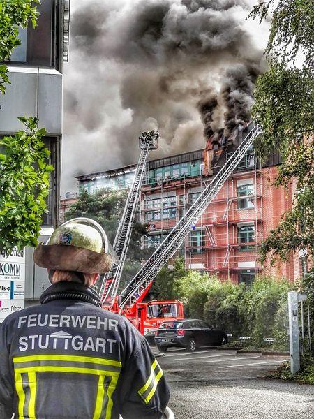Fire Feuer Burn Burning Burning House Brennendes Haus Brand Feuerwehr Firefighter Feuerwehrmann Stuttgart 0711 Null7elf The Street Photographer - 2017 EyeEm Awards This Is Masculinity