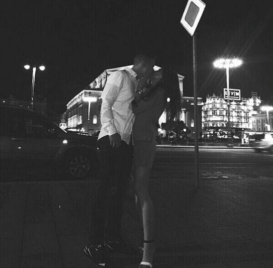 Мой родной😊😍😘🙈💖💟💞 Night Two People Nightlife Walk Summer Happiness 2017 Lifestyles Moscow City Russia Myboy💕 Love ♥ 2years9month Urban Skyline First Eyeem Photo