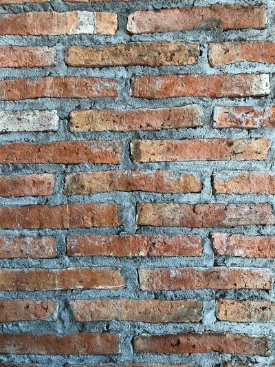 Brick wall Bare Bare Wall No Decoration Enclosure Interior Wall Screen Room Wall  Barrier Partition Wall Partition Stiff Firm Strong Solid Harsh Hard Backgrounds Full Frame Pattern Textured  No People Close-up Rough Architecture Wall - Building Feature Built Structure Brick Brick Wall Damaged