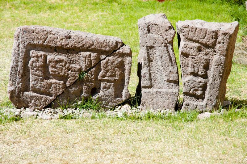 Pucara Lithic Museum Inca Peru Lithic Museum Pucara