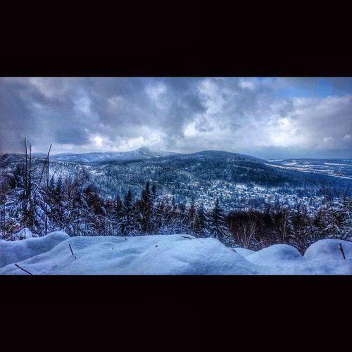 ... Good Morning Skitour um den Jonsberg mit Blick auf Jonsdorf und die Lausche im Hintergrund skiing wintersport naturshots naturgram ig_winter picoftheday picofmyday homeland Heimat winterland