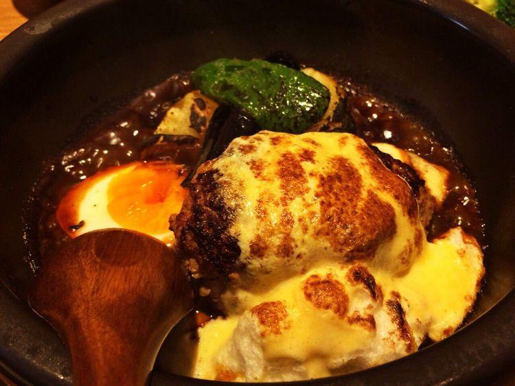 今夜の夕飯は、俺ハンで。うんまぁ〜〜♬ Hamburger Steak Birthday Yummy Today's Dinner