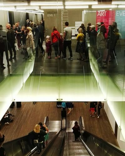 People Levels Seperation Upstairs Upstairs Downstairs Class London Art London TateModern Tate Modern Gallery Site Seeing Thames TateBritain Museum Museum Of Modern Art Art EyeEm LOST IN London Escalator Steps And Staircases Stairs