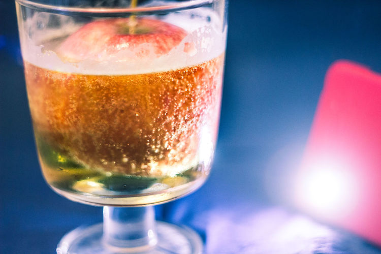 Apple Beer Colors Alcohol Close-up Drink Drinking Glass Flashlight Focus On Foreground Food And Drink Mix Yourself A Good Time Week Of Eyeem