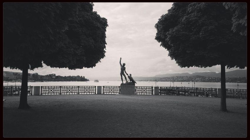 Zurich, Switzerland Blackandwhite Monochrome View