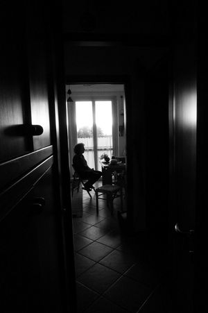 Sitting . Window Indoors  One Person Domestic Room Adult Real People People Full Length Day Architecture Black And White Bnw Only Women One Woman Only Light Effect Framed Shot Portrait Doubt Thinking About.. Life Real Life Shillouette Be. Ready. Press For Progress Inner Power