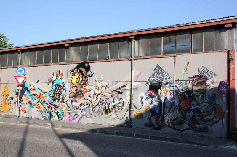 Street art/Graffiti Colors Graffiti Art Lifestyles Muralesart Occupation Outdoors RePicture Growth Showcase: December Street Art/Graffiti Streetphotography Wall