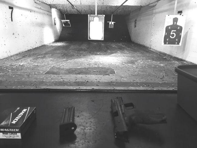 Shooting Heckler & Koch Gun GunRange