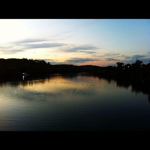 Sunset Austintx  Ladybirdlake