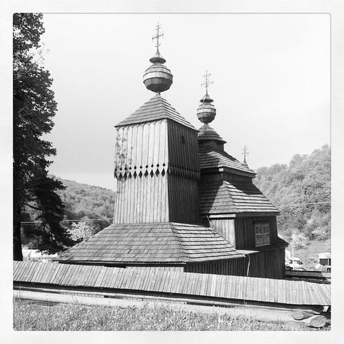 Cerkva Slovakia Kostolík Bodružal