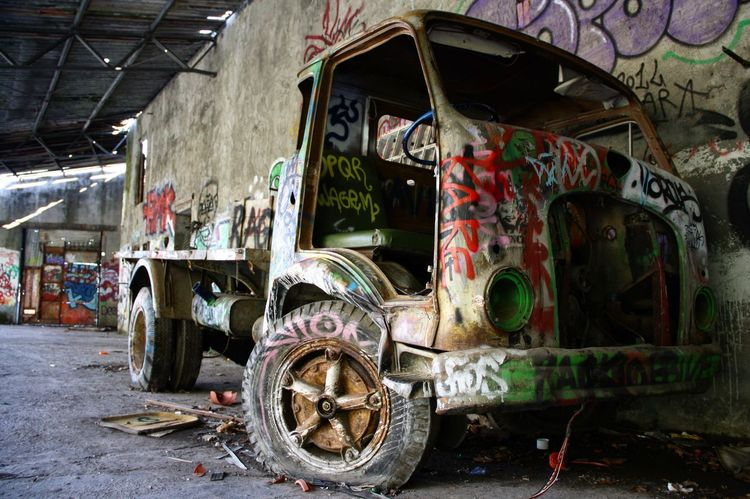 Consonno Grunge Nofilternoedit Canonphotography Abandoned Graffiti Destruction
