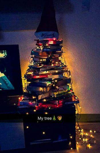 Books Book Treebooks Tree Happy New Year Marry Christmas Christmas Lights Christmas Decoration christmas tree NewYear