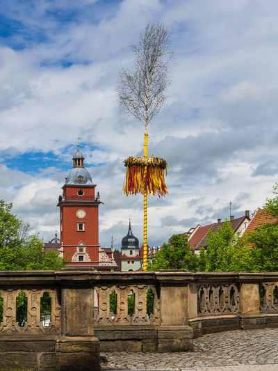 Gotha in Thuringia, Germany. Architecture Building Exterior Built Structure City City Gate Cityscape Clock Clock Face Clock Tower Cloud - Sky Day Gotha Landscape No People Outdoors Sky Thuringia Tower Travel Travel Destinations Tree