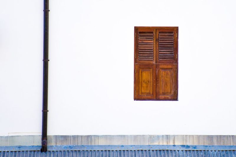 Minimalism Photography Minimalobsession Minimalist Minimalism Built Structure Architecture Window Building Exterior No People Building Day Closed Wall - Building Feature White Color Door Wood - Material House Outdoors Low Angle View