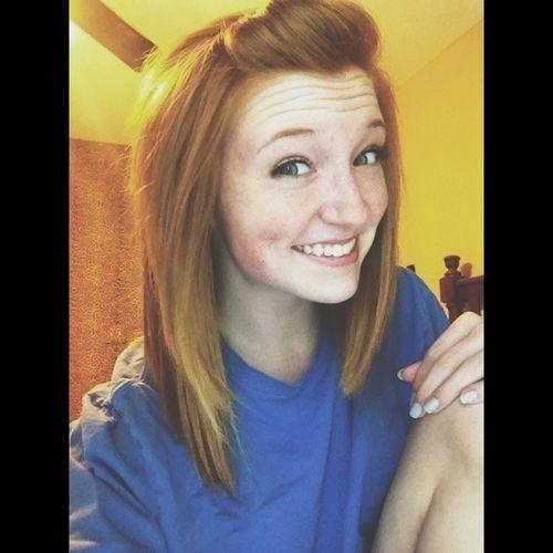 Short Hair Smile Selfie Self Portrait Ginger