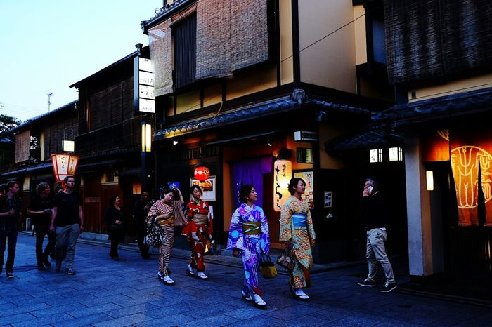 Kyoto,japan Kimono Walkingstreet 🌸 Traditional Clothing Traditional Takenbyaccident