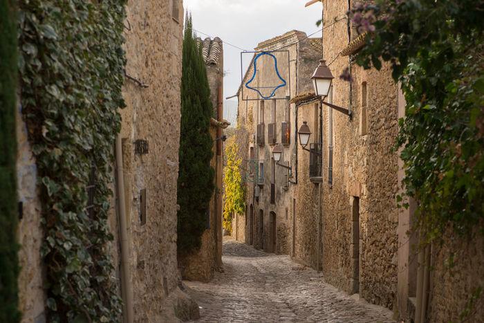Catalonia Country Girona Rural SPAIN Medieval Old Peratallada