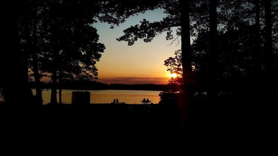 Good night Sunset Sweden Bolmsö Travelling Camping Relaxing Summer