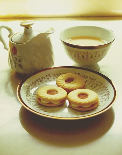 Unwind. Time To Relax Peaceful Calming Tea Time Tea Tea Cup Tea Pot Biscuits Snacks Olympuspenep3 Quality Time With Self Soft Light Relaxing Relaxation A Good Time To Read Have A Break Eyeem Philippines EyeEm Best Shots Eyeem Best Shots - Food Things I Like My Favorite Breakfast Moment