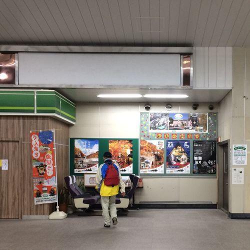 IPhoneography Human Interest Makuhari Station 😌🚶👍🎵座っているところを撮るはずが、間に合わんかった😃👍💦