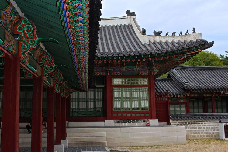 Exterior of gyeongbokgung