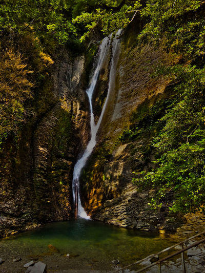 Caucasus Mountains From Mt. Elbrus Flowing Mountains Nature Travel Destinations Water Waterfall