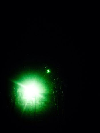 You Name It Night Illuminated Green Color No People Outdoors Nature Low Angle View Beauty In Nature Sky