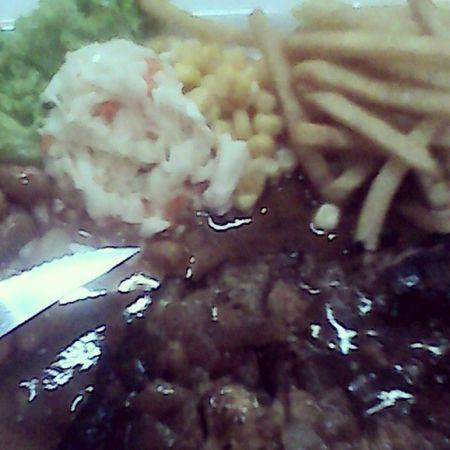 Makan dulu. Chicken Chop. Semangat OrangBelanja