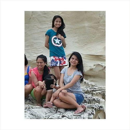 With my Cousins. Hi @janineiyakin! Hi @jaazminfq! @KapurpurawanRockFormation Travelilocos Ilocos Favila