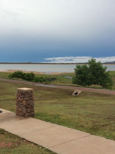 Lake. Southwestern Oklahoma. Scenic. Nature. Outdoors. No people Oklahoma. USA. Nature. Outdoor. Scenic. . Lakesideview Lake View Water Landscape Nature Beauty In Nature Tranquility Sky And Clouds Green Color Rural Scene Scenics Tranquil Scene