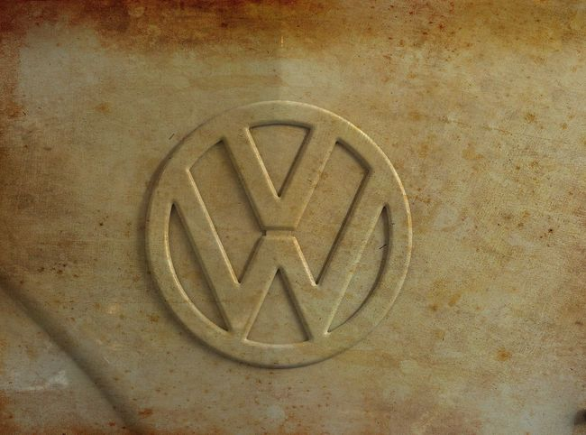 nice photo of the front of vw t1 Bus Cars Close-up Logo Old Oldtimer Volkswagen VW T1