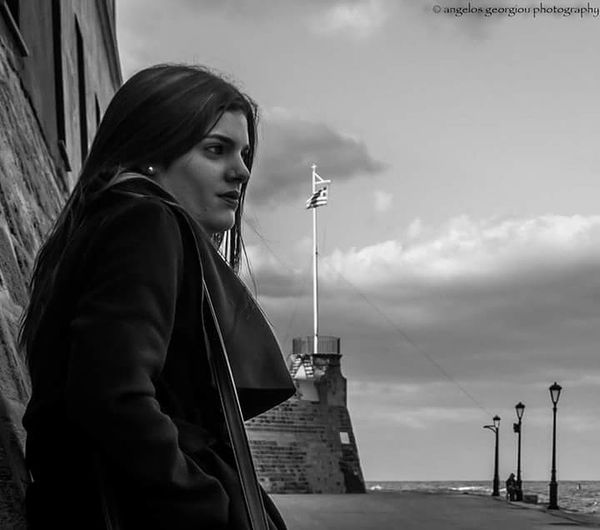 Only Women Adult One Woman Only Young Adult People One Young Woman Only Outdoors Women Cloud - Sky Young Women Sky Day City Blackandwhite Sophisticated Artistic Love Mywoman Mymuse Mywifeismymodel EyeEmNewHere EyeEmBestPics EyeEm Best Shots - Black + White EyeEm Best Shots