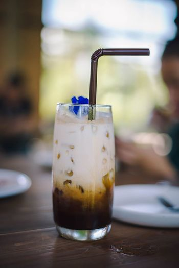 Mojito Drink Cold Temperature Ice Cube Drinking Glass Drinking Straw Alcohol Table Cocktail Tonic Water Carbonated Non-alcoholic Beverage Soda Ice Tea GIN Cola Black Coffee Lemonade Froth Art Iced Coffee Purified Water Vodka Hot Drink Drink Can Lemon Soda Tequila - Drink Dissolving Rum Mason Jar Transparent