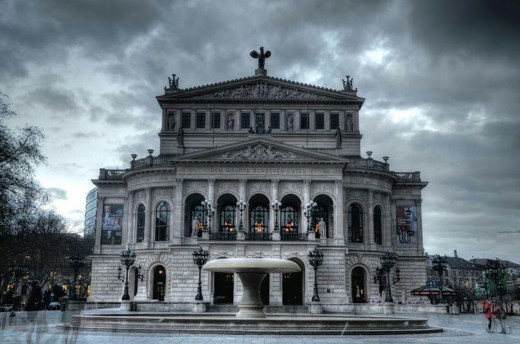 Alte Oper Frankfurt Am Main Frankfurt Taking Photos Architecture EyeEm Best Shots Eye4photography  Photography Nachtfotografie Nachtaufnahme