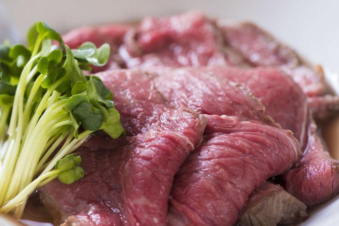 Delicious Dinner Food Food And Drink Freshness Good Taste Meat Roast Roast Beef