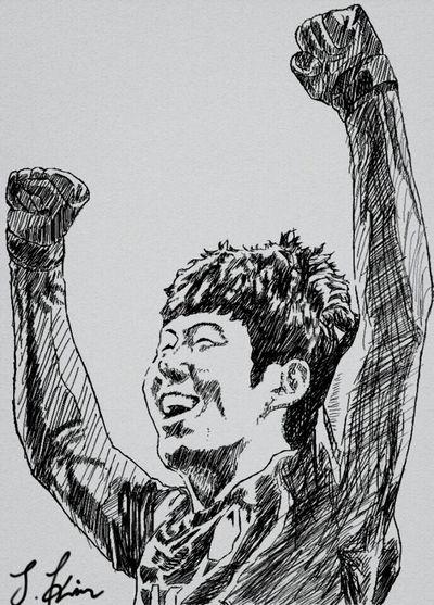 손흥민 스케치