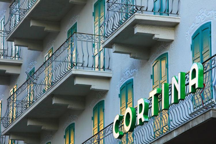 Architecture Architecture_collection Cortina D'Ampezzo Dolomites Dolomites, Italy Italy Landmark Landscape Resort Travel