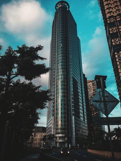 sky scrapper Modern Sky Architecture Built Structure Cloud - Sky Office Building