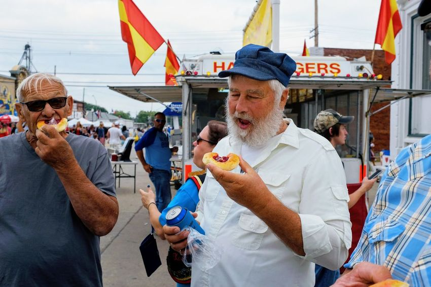 56th Annual National Czech Festival - Saturday August 5, 2017 Wilber, Nebraska Americans Camera Work Eating EventPhotography FUJIFILM X100S Main Street USA Nebraska Photo Essay Small Town America Visual Journal Wilber, Nebraska Adult Adults Only Casual Clothing Culture And Tradition Cultures Czech Days Czech Festival Day Flag Food Kolace Kolace Eating Contest Kolace Leisure Activity Market Mature Adult Mature Men Men Neighbors Outdoors Parade People Photo Diary Real People Senior Adult Senior Men Sky Standing Streetphotography